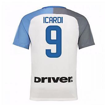2017 18 インテル ミラノを離れてシャツ (9 Icardi) - 子供
