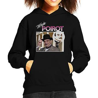 Hercule Poirot Montage Kid de Hooded Sweatshirt