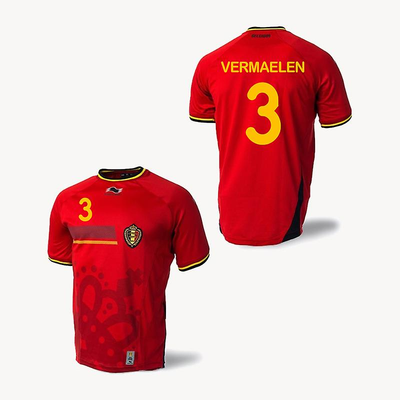 2014-15 Belgium World Cup Home Shirt (Vermaelen 3) - Kids