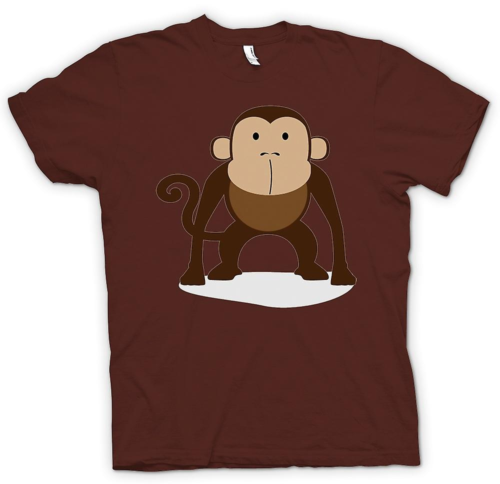 Hommes T-shirt - I Love Monkeys - Animal mignon