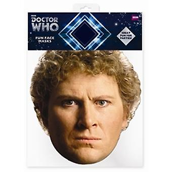 Colin Baker lege som kort ansiktsmaske (sjette legen)
