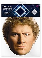 Colin Baker Doctor Who Card Face Mask (The Sixth Doctor)