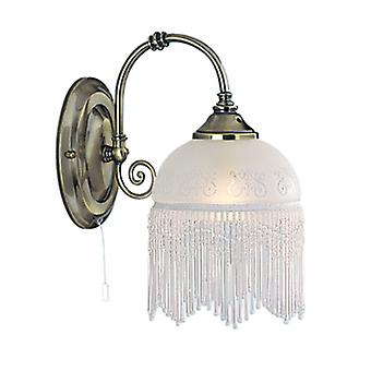 Searchlight 3151-1AC Victoriana Wall Light with Switch