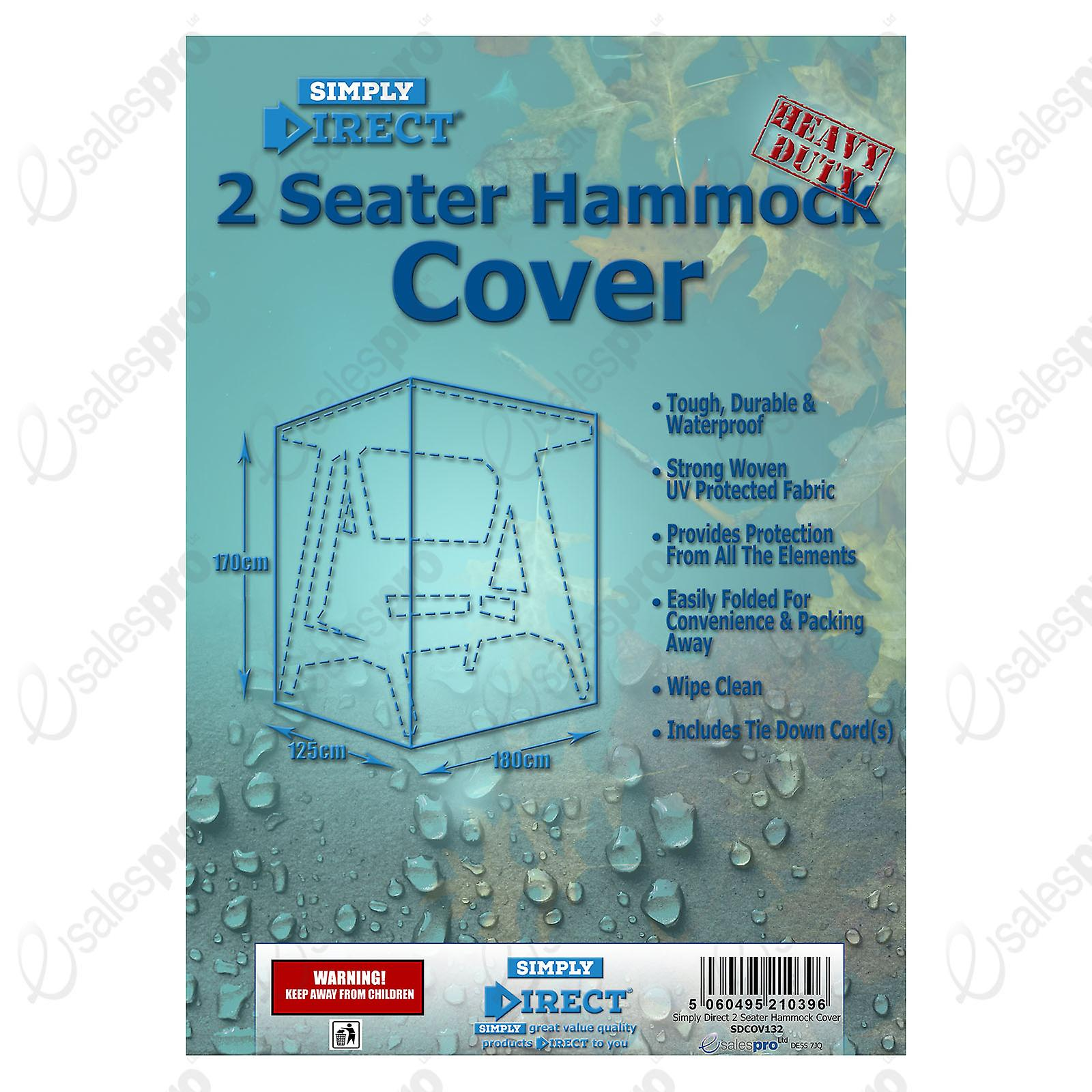 2 Furniture Protector Direct CoverWaterproof Weatherproof Seater Simply Hammock qUSMpLVjzG
