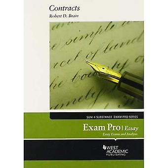 Exam Pro on Contracts, Essay