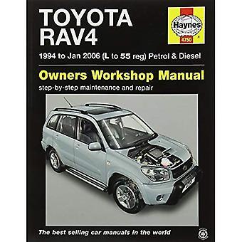 Toyota RAV4 Petrol & Diesel Service and Repair Manual: 1994 to 2006 (Haynes Service and Repair Manuals)