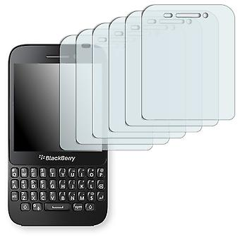 BlackBerry Q5 display protector - Golebo crystal clear protection film