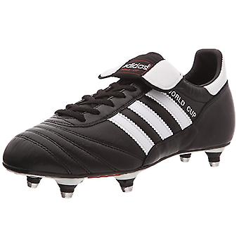 adidas World Cup Edition mens real leather football boots with screw studs sole black