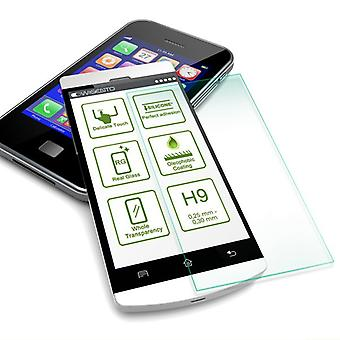 Für Sony Xperia XZ4 Compact Hybrid Case 2teilig Schwarz Tasche Hülle + Hartglas