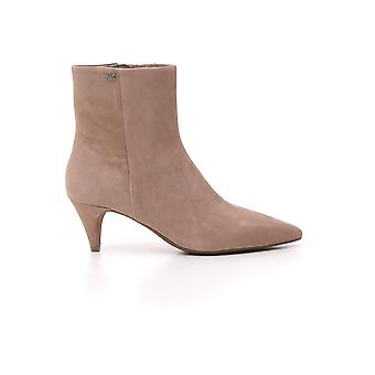 Michael Kors Pink Suede Ankle Boots