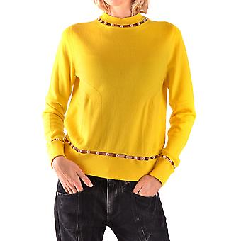 Givenchy Yellow Wool Sweater