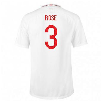 2018-2019 England Home Nike Football Shirt (Rose 3) - Kids
