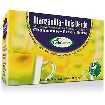 Soria Natural Chamomile And Anise Infusion (Vitamins & supplements , Special supplements)