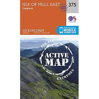 Isle of Mull East by Ordnance Survey - 9780319472422 Book