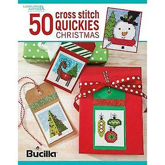 50 kors stygn Quickies Christmas-Pläden Bucilla Needlecrafts-97