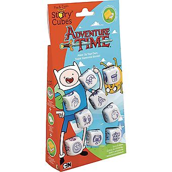 The Creativity Hub RSC109 Rorys Story Cubes Adventure Time Dice Game