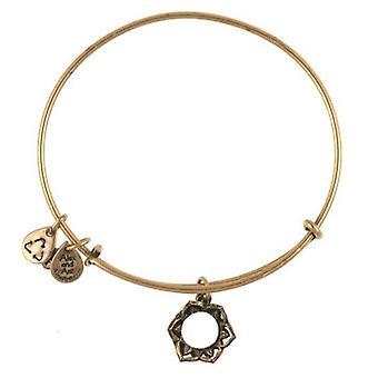 Alex et Ani Reine couronne or bracelet A09EB134RG