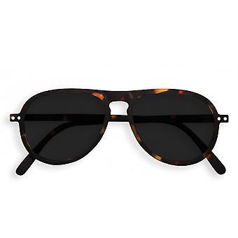 Izipizi #i żółwia Aviator z Grey obiektywy okulary przeciwsłoneczne