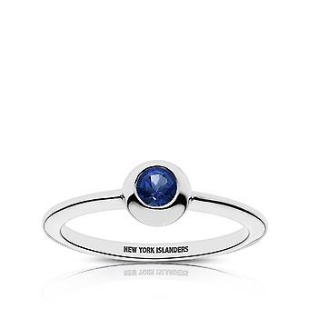 New York Islanders New York Islanders graviert Saphir Ring