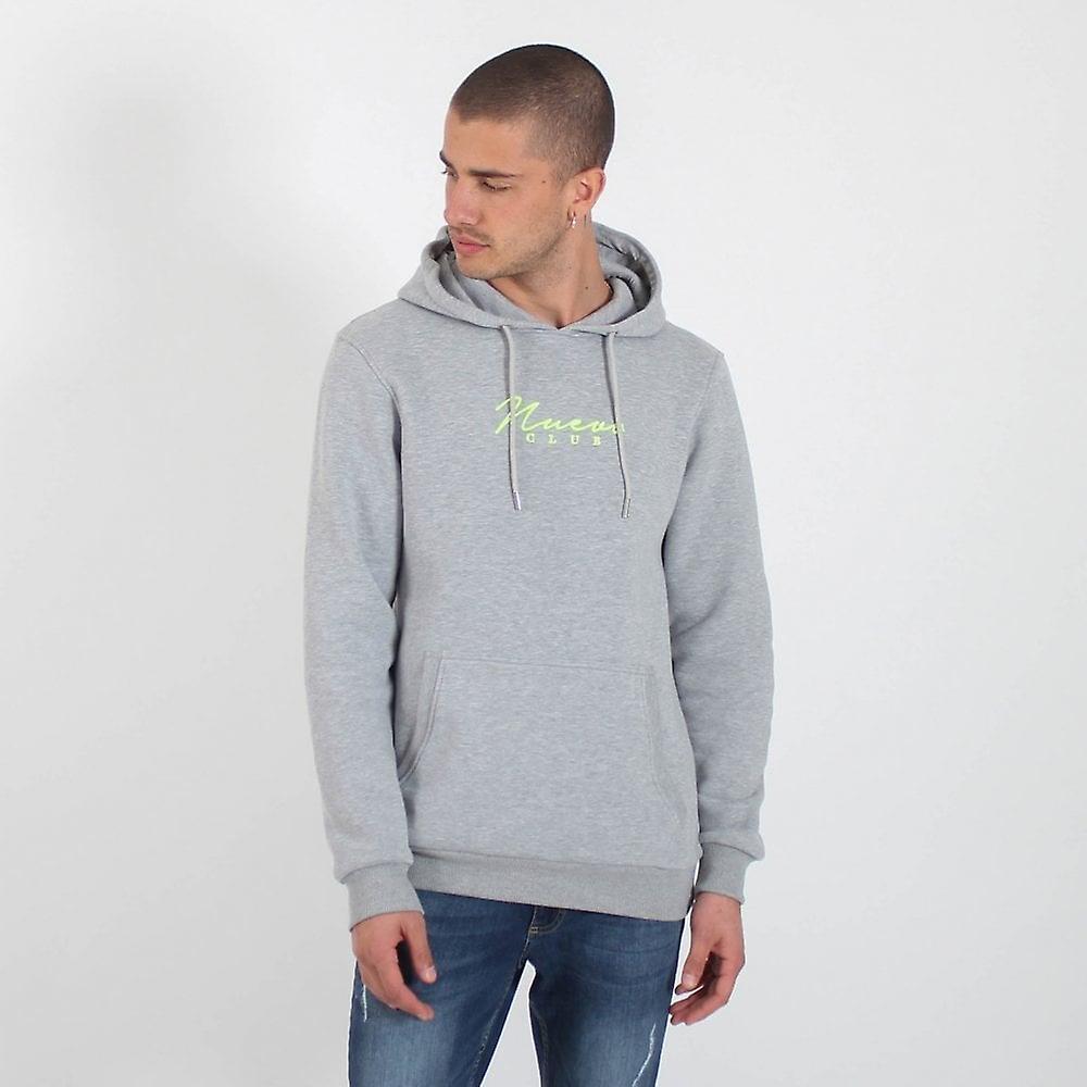 Nuevo Club Signature Hood - Grey Marl / Fluorescent