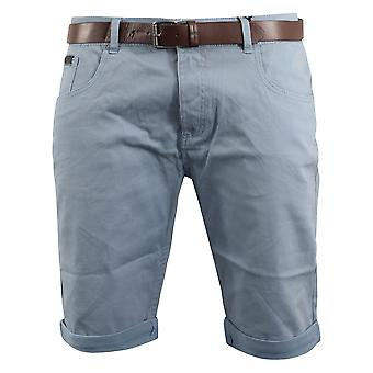 Mens oxford belted shorts smith en jones
