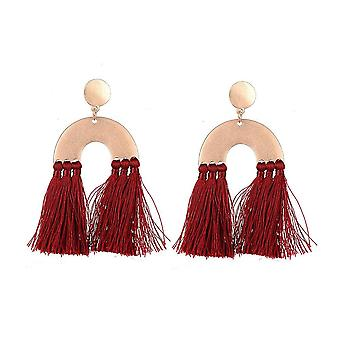 Jewelcity Sunkissed Womens/Ladies Antique Style Tassel earrings