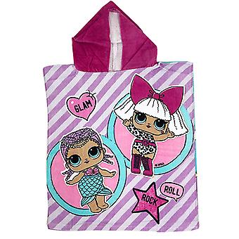 LOL Surprise Glam Hooded Towel Poncho