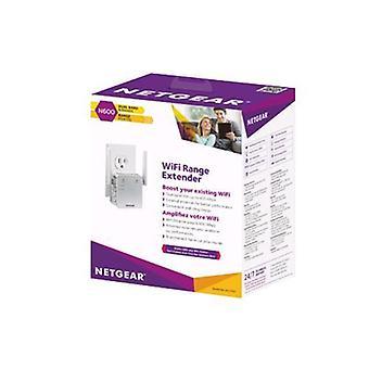 Netgear ex3700-100pes extensor de alcance para wi-fi red color blanco