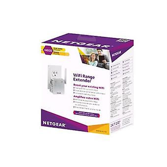 Netgear ex3700-100pes range extender for wi-fi network color white
