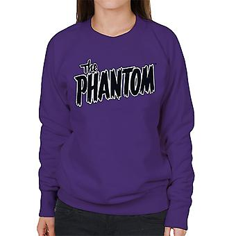 The Phantom Text Logo Women's Sweatshirt
