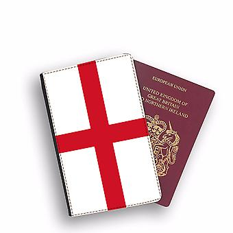 ENGLAND Flag Passport Holder Style Case Cover Protective Wallet Flags design