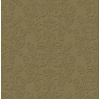 Napkins Gold Metal 2-pack 33x33 cm 20-pack
