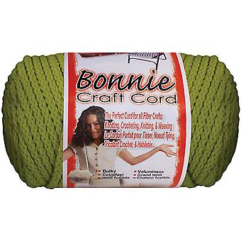 Bonnie Macrame Craft Cord 4mmX100yd-Lime BB4100-146