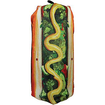 Scoochzilla Tough Hot Dog Dog Toy 7