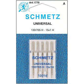 Universal Machine Needles Size 16 100 5 Pkg 1778