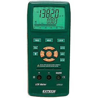 Component tester digital Extech LCR200 Calibrated to: Manufacturer's standards (no certificate) CAT I Display (counts):