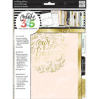 Create 365 Happy Planner Extension Pack-Wedding  MONT04