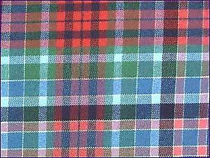 Gordon Rouge, Antique - Tartan Pure Laine
