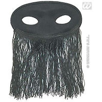 Widmann Black Mask (Kids , Toys , Imitation , Drama , Accessories)