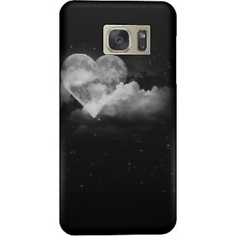 Couverture de moon coeur pour Galaxy Note 5