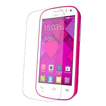 Alcatel One Touch Pop C3 Displayschutzfolie 9H Verbundglas Panzerglas Tempered Glas