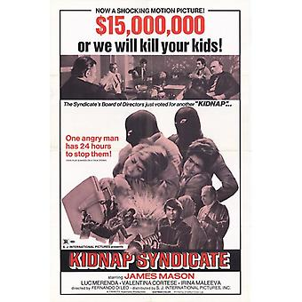 Kidnap Syndicate Movie Poster Print (27 x 40)