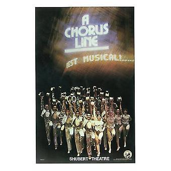 En Chorus Line (Broadway) film plakat (11 x 17)