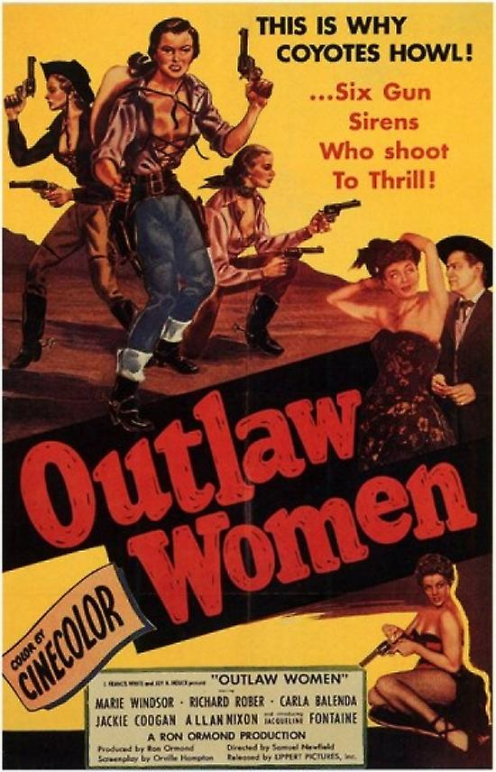 outlaw women movie poster 11 x 17 fruugo