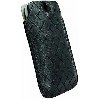 Krusell Coco cellphone pouch size: L 116 x 62 x 12 mm in black