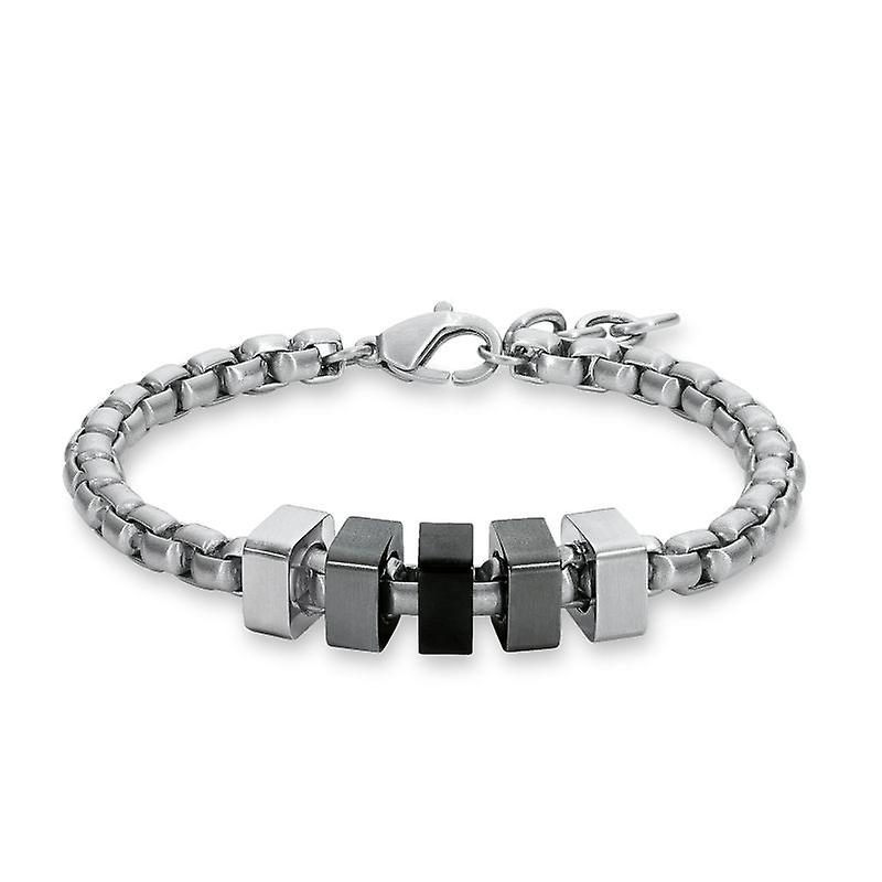 s.Oliver Jewel Men bracelet stainless steel SO1212 / 1-508681