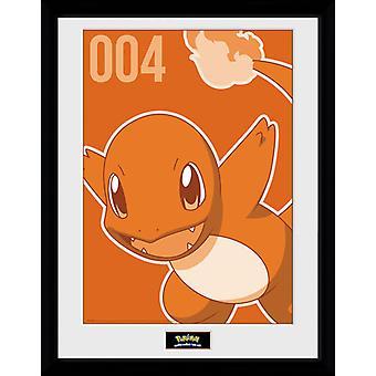 Pokemon Charmander Mono samler Print