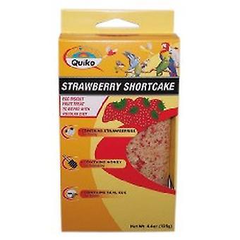 Quiko Bird Egg Biscuit Strawberry Shortcake 125g (Pack of 10)