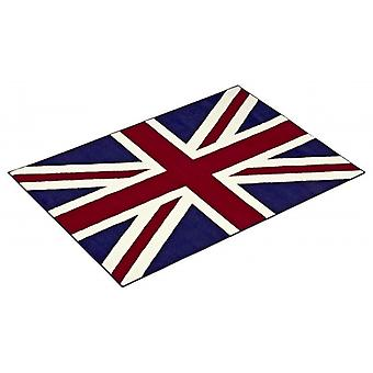 Union Jack England/London Fahne Teppich