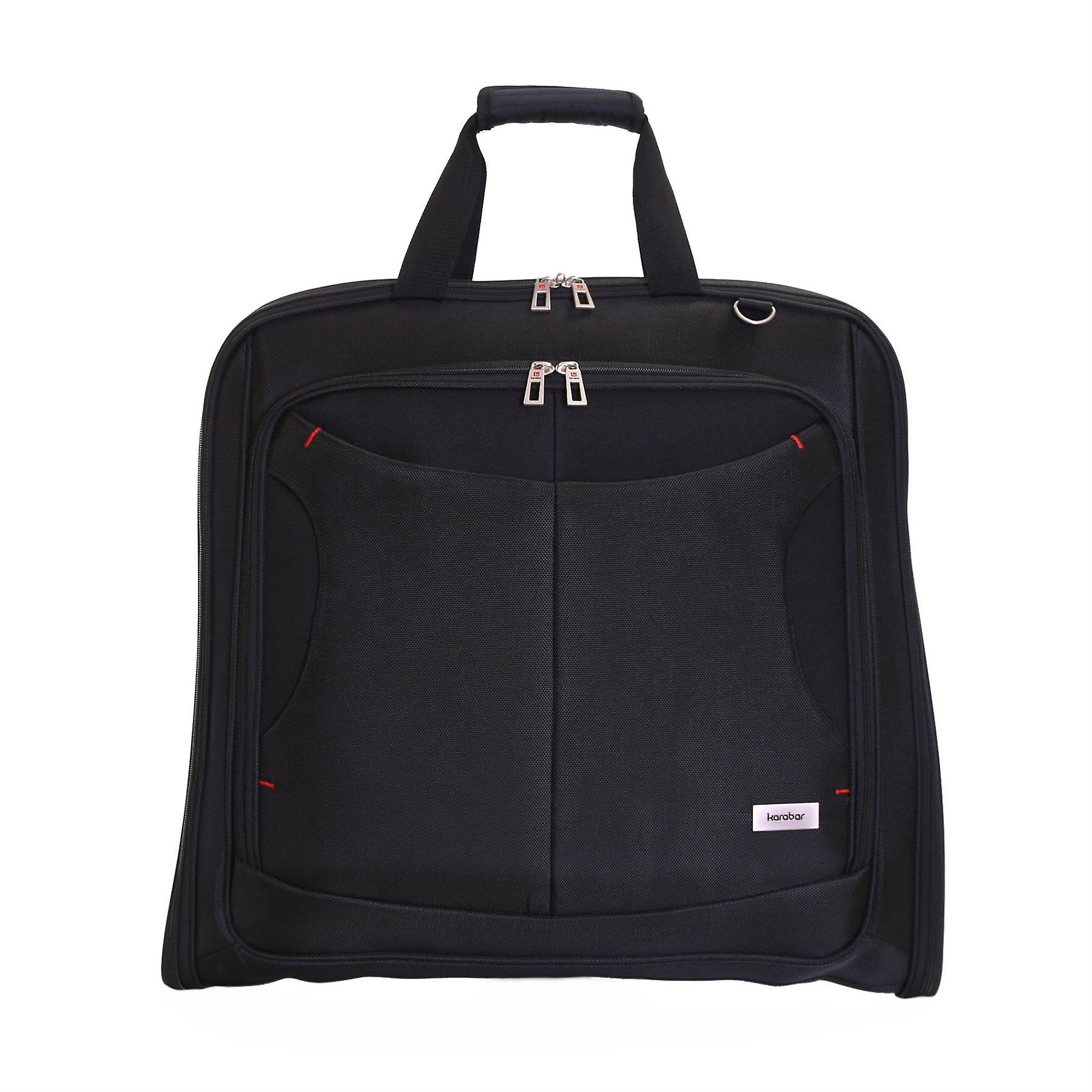 Karabar Salisbury Suit/Garment Carrier, Black
